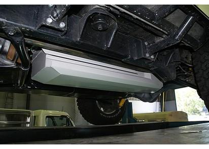 Zusatztank Jeep Wrangler JK -12/11 4-trg., Benzin, 68 l, HD (4mm Blech)
