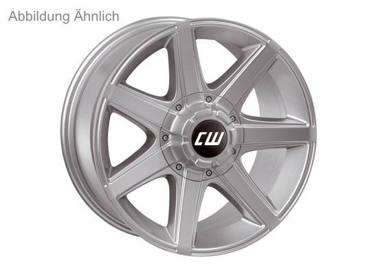 CWE-Alufelge 7x16 5x120, ET+35, silber. Land Rover Disco II