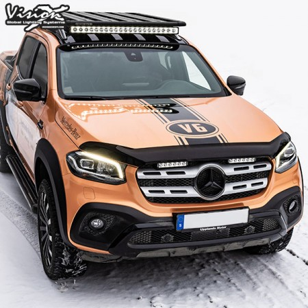 Mercedes X-CLASS 2018+ XPL LO-PRO Lightbar Kit Vision-X