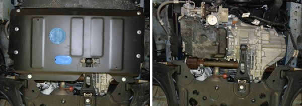 Engine and Gearbox Ford Transit Custom 2,2 Skidplate