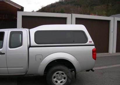 Standard Hardtop für Toyota Hilux ab 05 X-Cab,hoch seitl. Schiebefenster