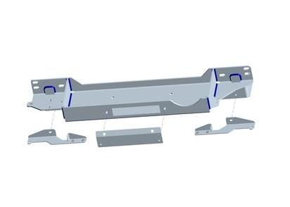 Seilwindenanbausatz Toyota J15 15-18 inkl. WARN ZEON 10 Platinum