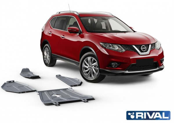 SET Nissan X-Trail T32 4WD 2,0; 4WD 2,5 only!