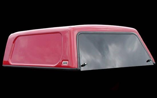 Basic Hardtop für Ford Ranger 12-> 2AB EC flach, genarbt seitl. geschlossen