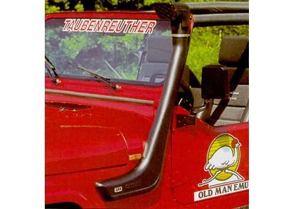 Safari-Snorkel Jeep WranglerYJ 2,5l+4,0l Motor, SS1000HF