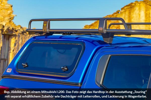 Touring Hardtop für Mitsubishi L200 ab 15 Doka flach seitl. Klappfenster