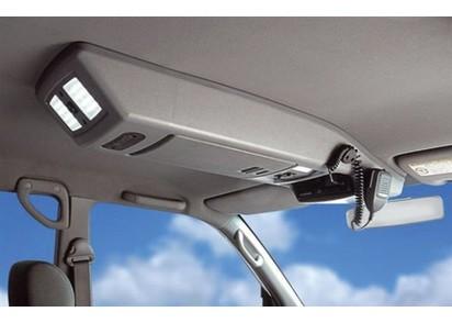Dachkonsole Ford Ranger / Mazda BT50, grau, Doka, bis 2011