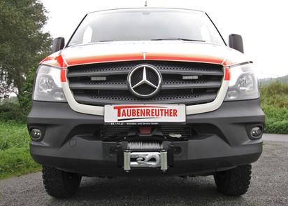 Windenanbausatz Mercedes Sprinter 06-18 VW Crafter -> 12/16, ohne Seilwinde