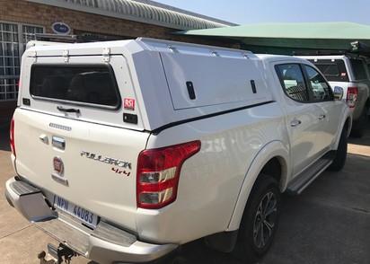 RSI Hardtop Fiat Fullback Edelstahl Doppelkabine