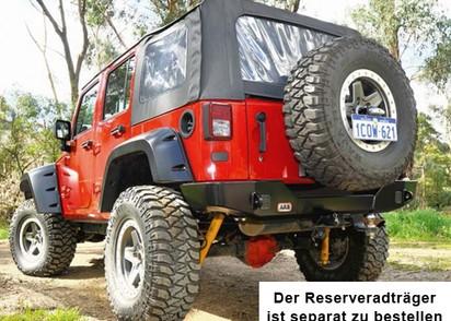 ARB Heckstoßstange Jeep Wrangler JK, mit Res.radhalter 2-5750300 kombinierbar