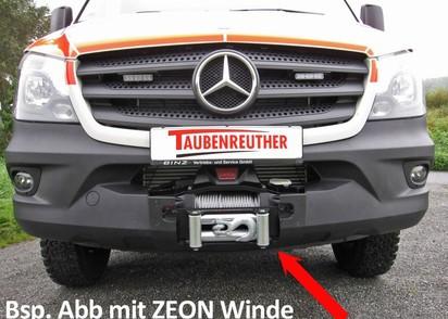 Seilwinden Set Mercedes Sprinter 06-18 & VW Crafter ->12/16 inkl.WARN XDC