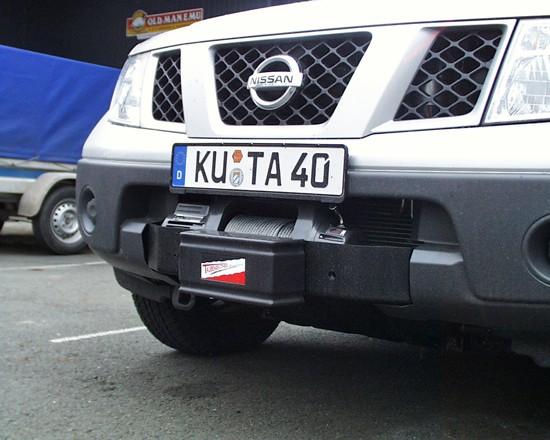 Windenanbausatz Nissan D40, Pathfinder, alle BJ, nur 2.5 l Diesel, M6000-XP 9.5