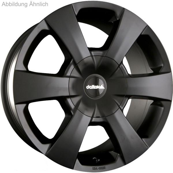 Alufelge Delta WP VW Amarok 8x17 5x120 Et +40, schwarz matt