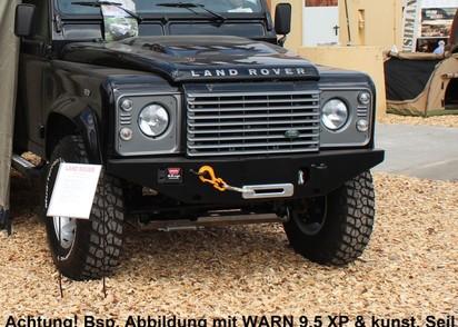 Seilwinden Set Rover Defender neue Ausführung mit WARN M8000