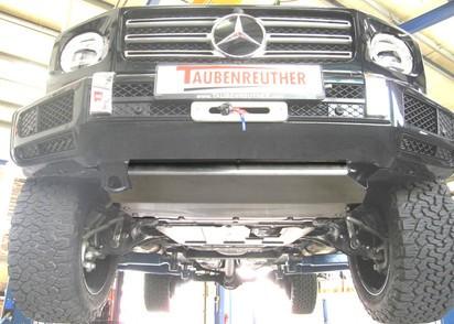Unterfahrschutz Mercedes Benz G463A G500 ab 18 und G350D ab 19, Motor