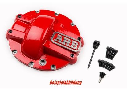 ARB Differentialschutz Jeep Wrangler JL Rubicon, vorne, rot
