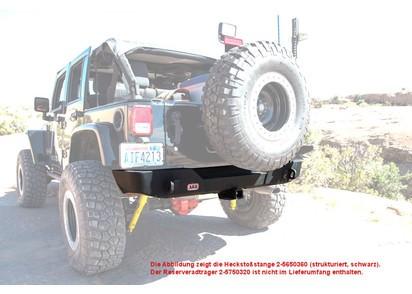 ARB Heckstoßstange Jeep Wrangler JK, strukturierte Oberfläche, schwarz