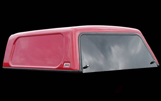 Basic Hardtop für Ford Ranger 12-> 2AB DC flach, genarbt seitl. geschlossen