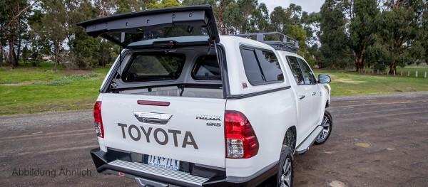 ARB Classic Plus Hardtop, Toyota Hilux REVO, Doka flach seitl. Schiebefenster
