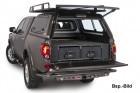 Abdeckung Outback Schublade seitlich Toyota LC 120 mit Klima hinten