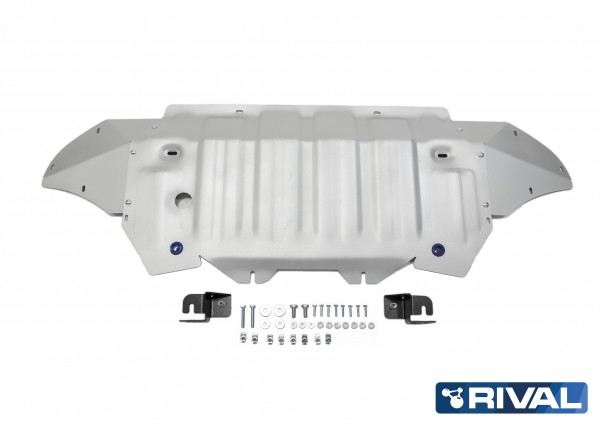 Radiator and Engine Volkswagen Touareg 3,0TD 4WD Skidplate