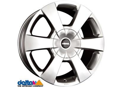 Alufelge Delta WP Mitsubishi L200 & Fiat Fullback 7,5x16 6x139,7 Et +30, silber