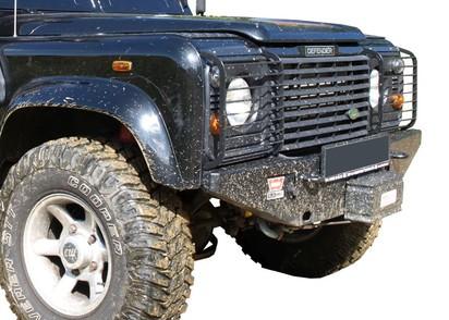 Seilwinden Set Rover Defender neue Ausführung mit WARN 9,5XP