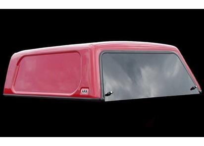 Basic Hardtop für Nissan Navara D40 ab 05 Doka flach seitl. geschlossen