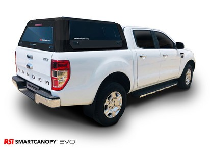 RSI EVO Hardtop f. Ford Ranger ab 2012 Doppelkabine, matt schwarz