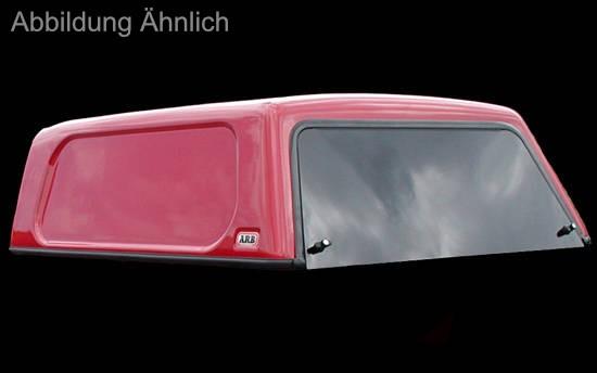 Basic Hardtop für Mitsubishi L200 10- DC, glatt, flach, seitl. geschlossen