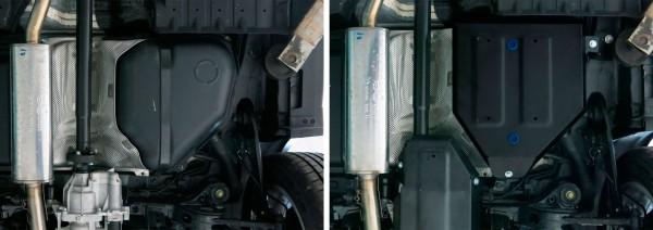 Fuel Tank Hyundai Tucson TL 2WD/4WD 2,0MPI; 2WD/4WD 2,0CRDI; 2WD/4WD 1,6T (177hp) Skidplate