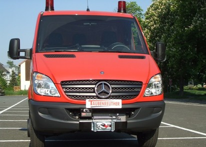 Windenanbausatz Mercedes Sprinter, VW Crafter, ab BJ ´06