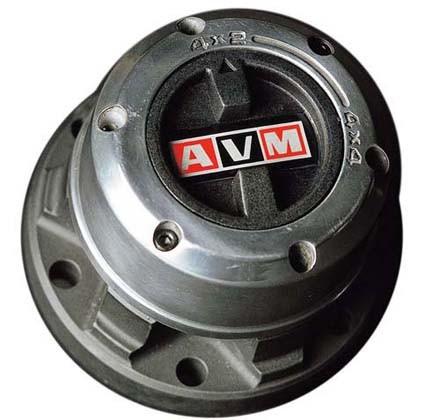 """AVM Freilaufnabe Landrover Serie I, II, III 88"""" 48-80"""