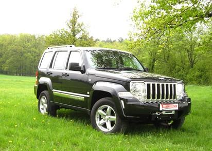 Seilwinden Set Jeep Cherokee KK mit WARN XDC