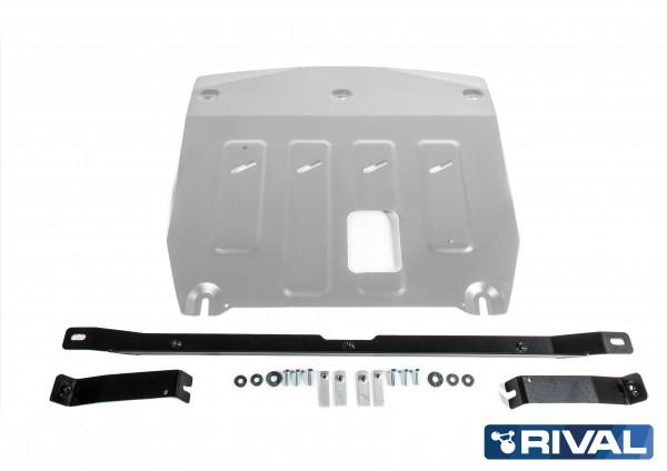 Engine and Gearbox Hyundai Santa Fe 2,2D; 2,4i Skidplate