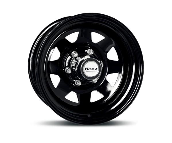 DOTZ Stahlfelge 7x16, 6x139.7, ET30 schwarz, Mitsubishi L200 (KAOT),V60